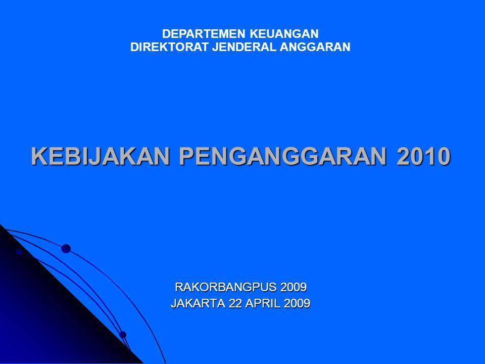 2 TOPIK BAHASAN Rambu-rambu Penganggaran Program- Kegiatan 2010 Rambu-rambu Penganggaran Program- Kegiatan 2010 Proses Penyelesaian Dokumen Penganggaran Proses Penyelesaian Dokumen Penganggaran Rencana Penerapan PBB dan MTEF 2010 Rencana Penerapan PBB dan MTEF 2010 Lampiran Pagu dan Realisasi Belanja Rp Murni K/L 2005-2008