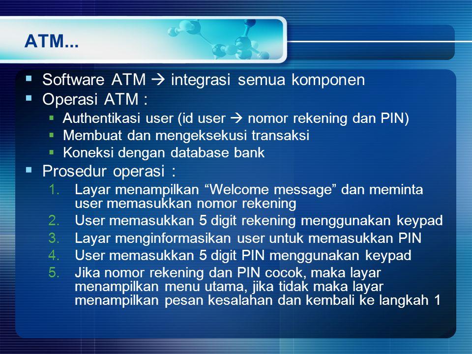 ATM...