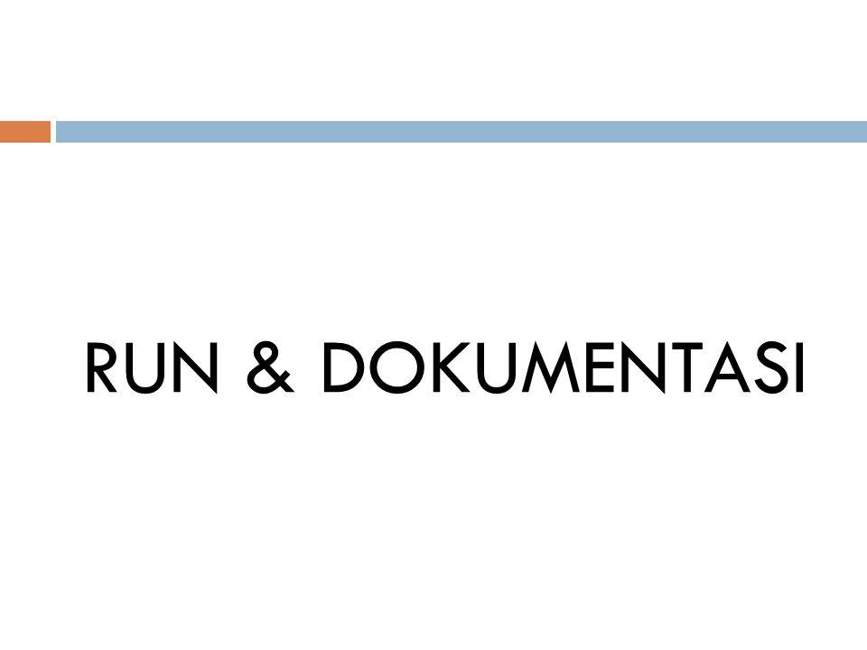 RUN & DOKUMENTASI
