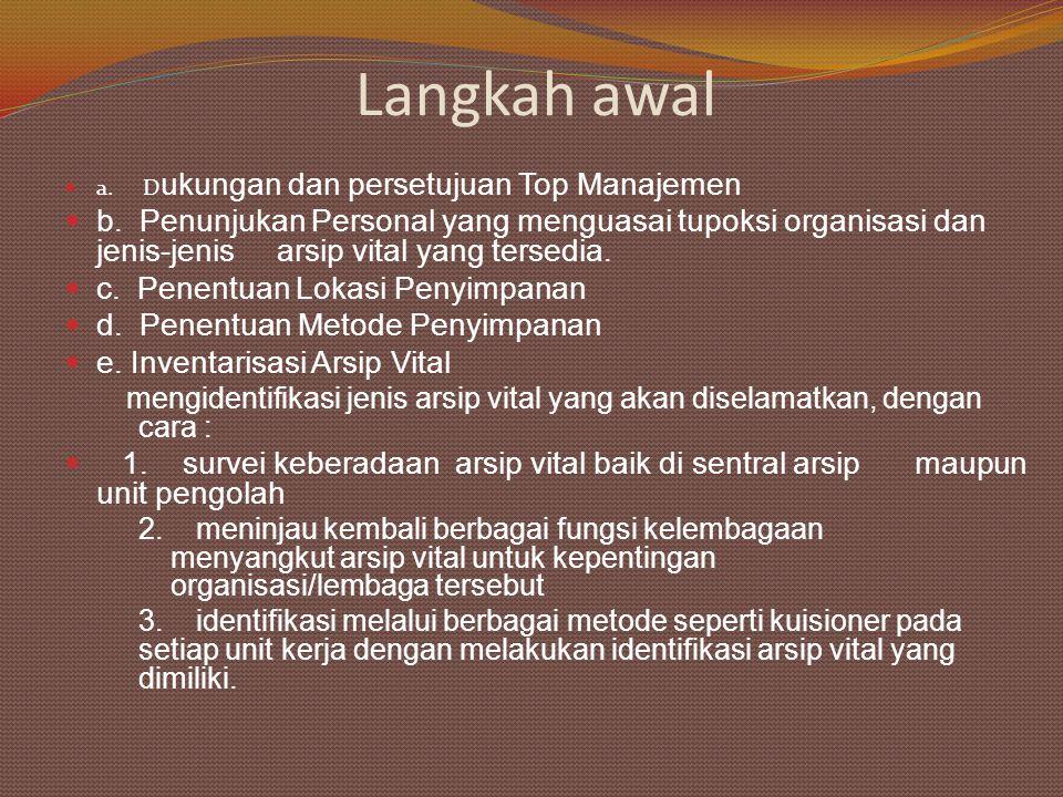 1.Faktor Perusak (bencana alam & manusia) 2.