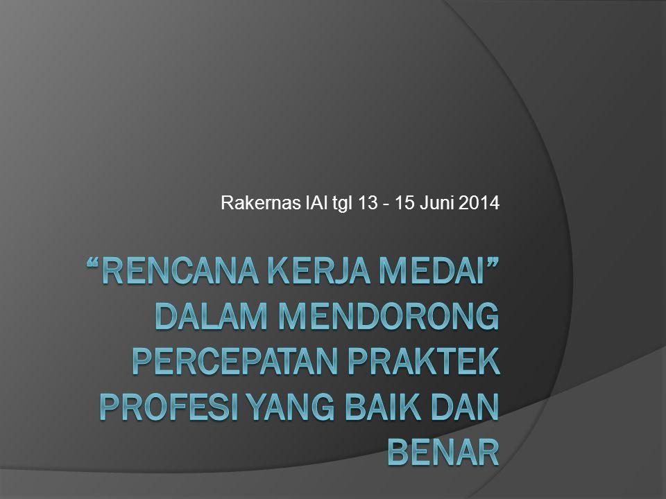 Rakernas IAI tgl 13 - 15 Juni 2014