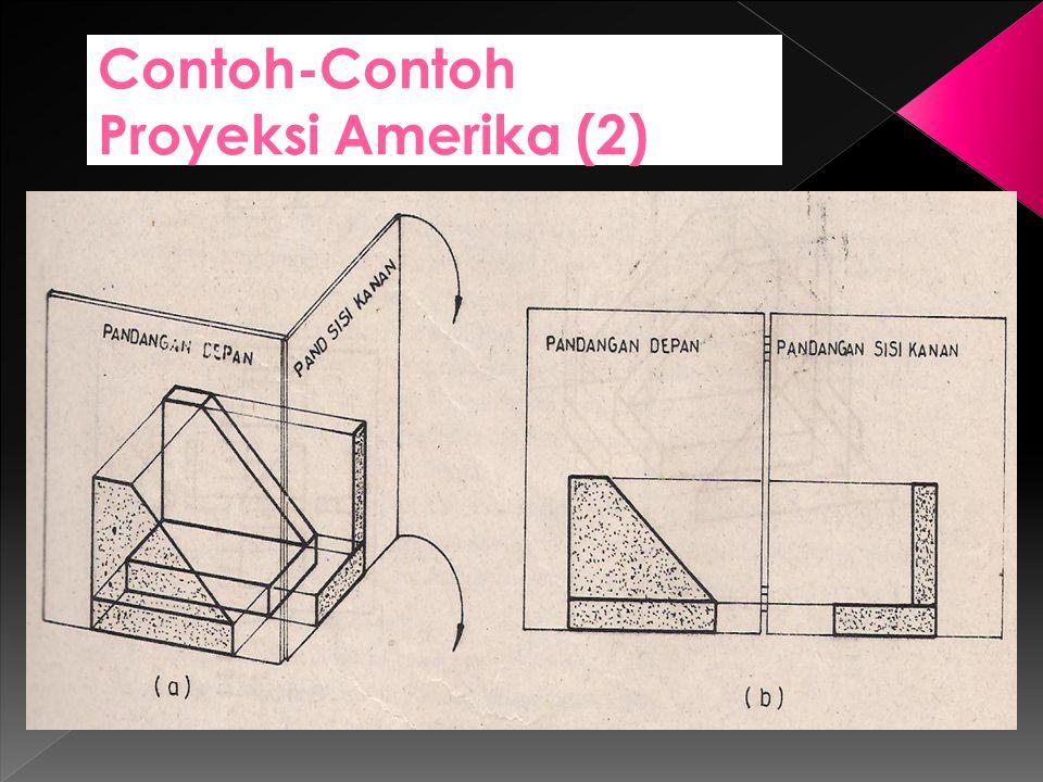 Contoh-Contoh Proyeksi Amerika (2)