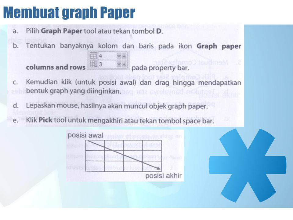 Membuat graph Paper