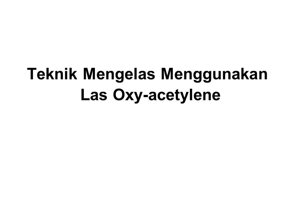 Hal-hal yang perlu diperhatikan pada saat melakukan pengelasan Oxy-acetylene : 1.Pemanasan benda kerja menggunakan nyala api las harus terbagi rata pada kedua bagian benda kerja yang hendak disambung.