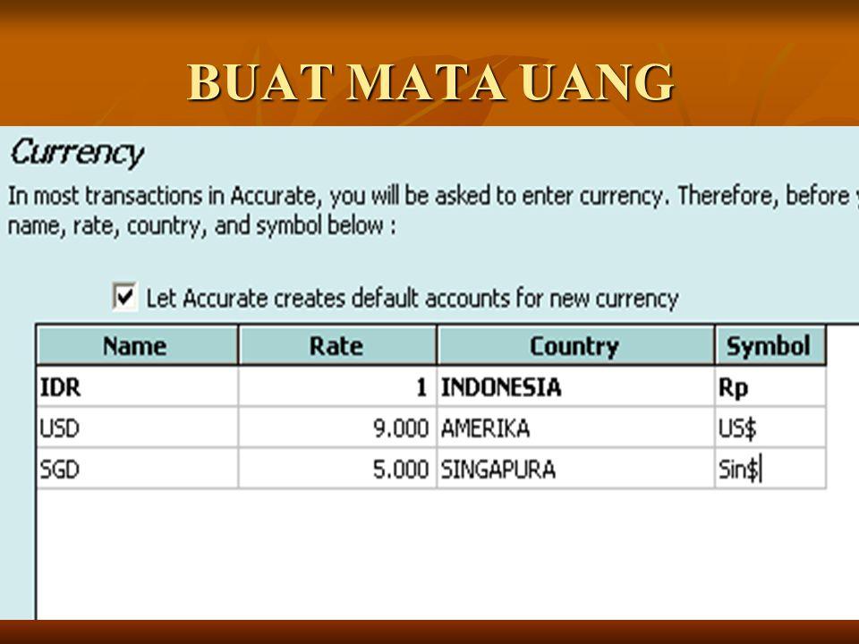 Transaksi 11 Juli 2004 Buka menu Activities – Cash/Bank – Other Payment Buka menu Activities – Cash/Bank – Other Payment Isi seperti gambar berikut Isi seperti gambar berikut