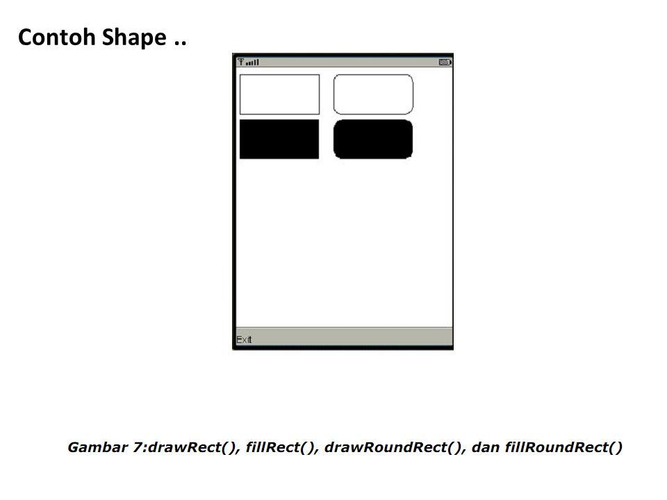 Contoh Shape..