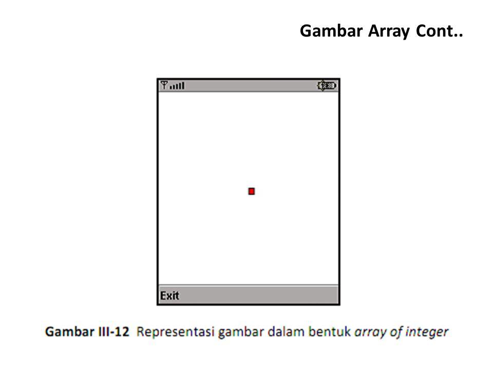Gambar Array Cont..
