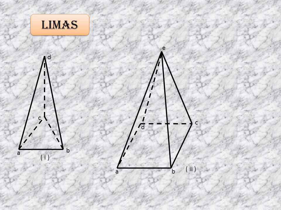 Limas a b c d ab c d e ( i ) ( ii )