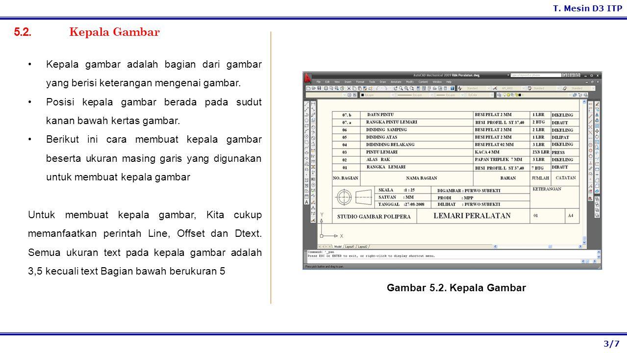 3/7 T.Mesin D3 ITP 5.2.