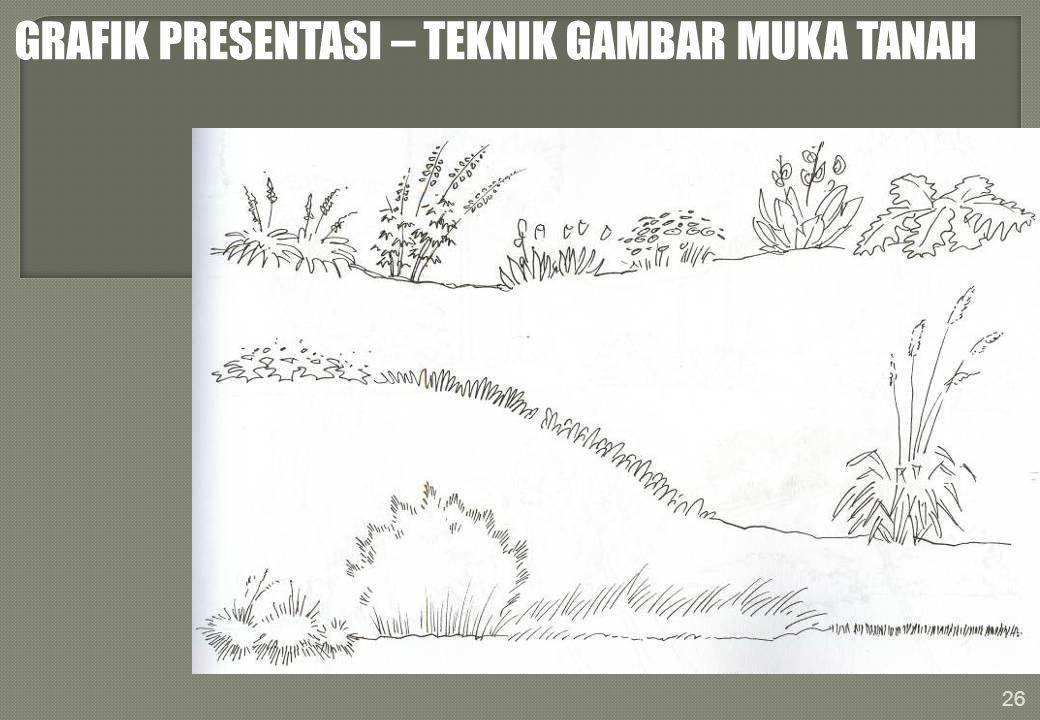 GRAFIK PRESENTASI – TEKNIK GAMBAR MUKA TANAH 26