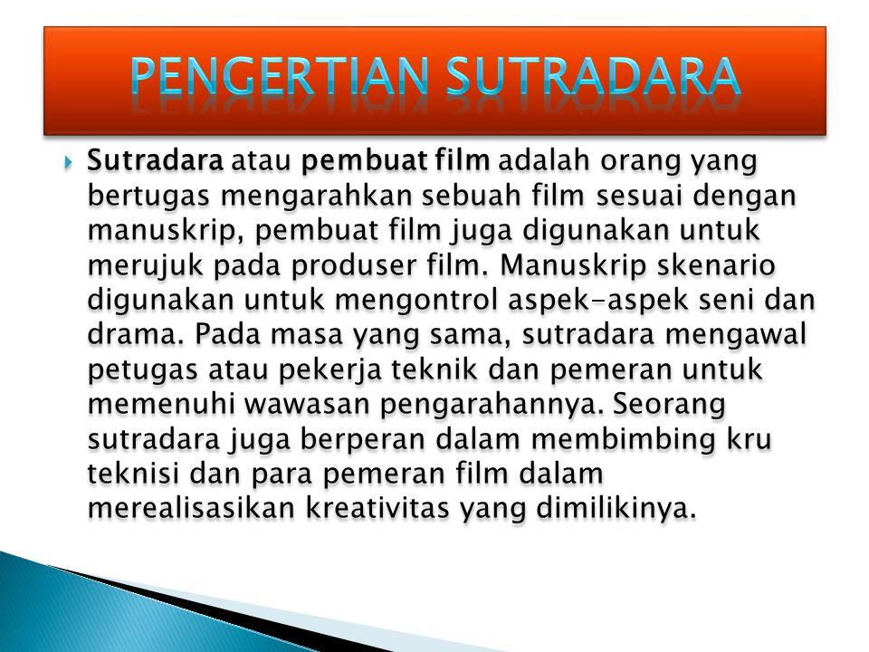  Mencari dan mendapatkan ide cerita untuk produksi.  Membuat proposal produksi berdasarkan ide atau skenario film.  Menyusun rancangan produksi. 