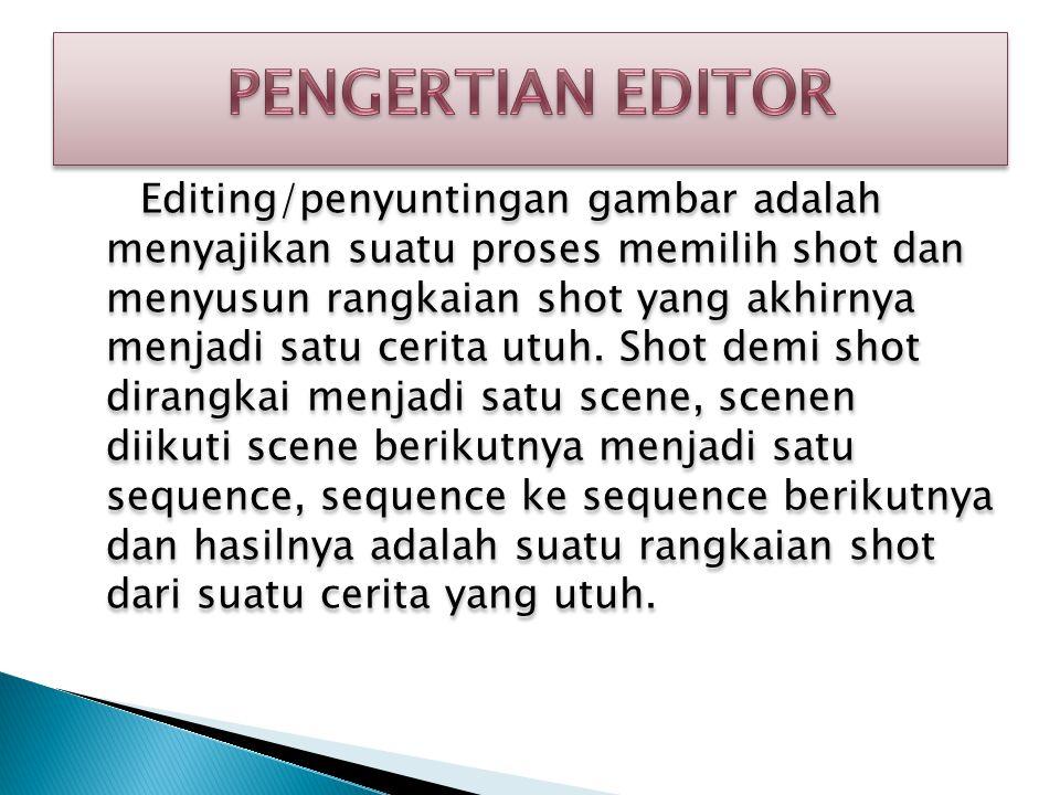  Tugas seorang sutradara adalah menerjemahkan atau menginterpretasikan sebuah skenario dalam bentuk imaji/gambar hidup dan suara  Seorang sutradara