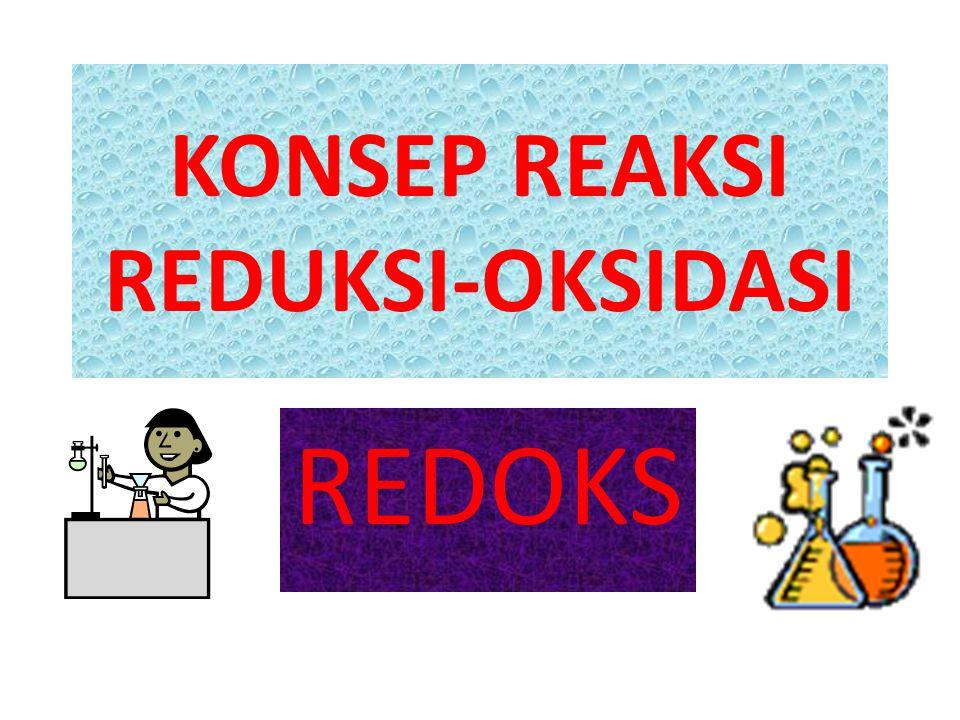 KONSEP REAKSI REDUKSI-OKSIDASI REDOKS
