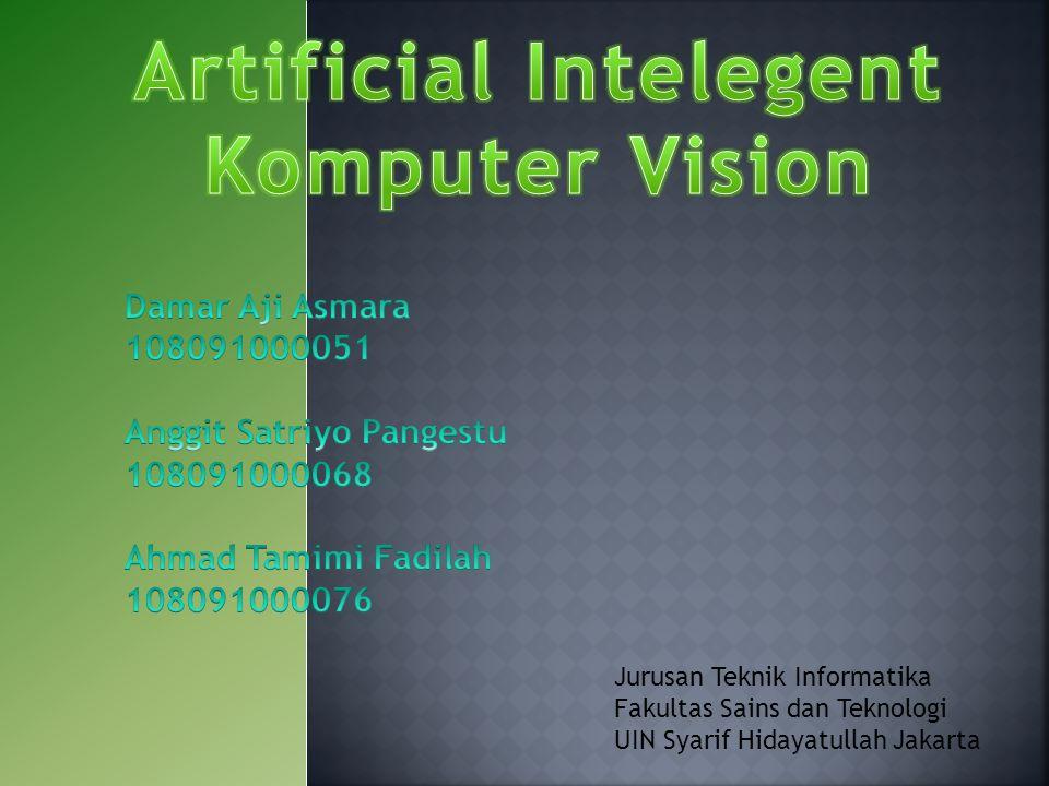 Tahapan akhir dari computer vision kemudian adalah bagaimana komputer bisa memiliki pengetahuan (knowledge) tentang suatu objek yang ada dalam scene.
