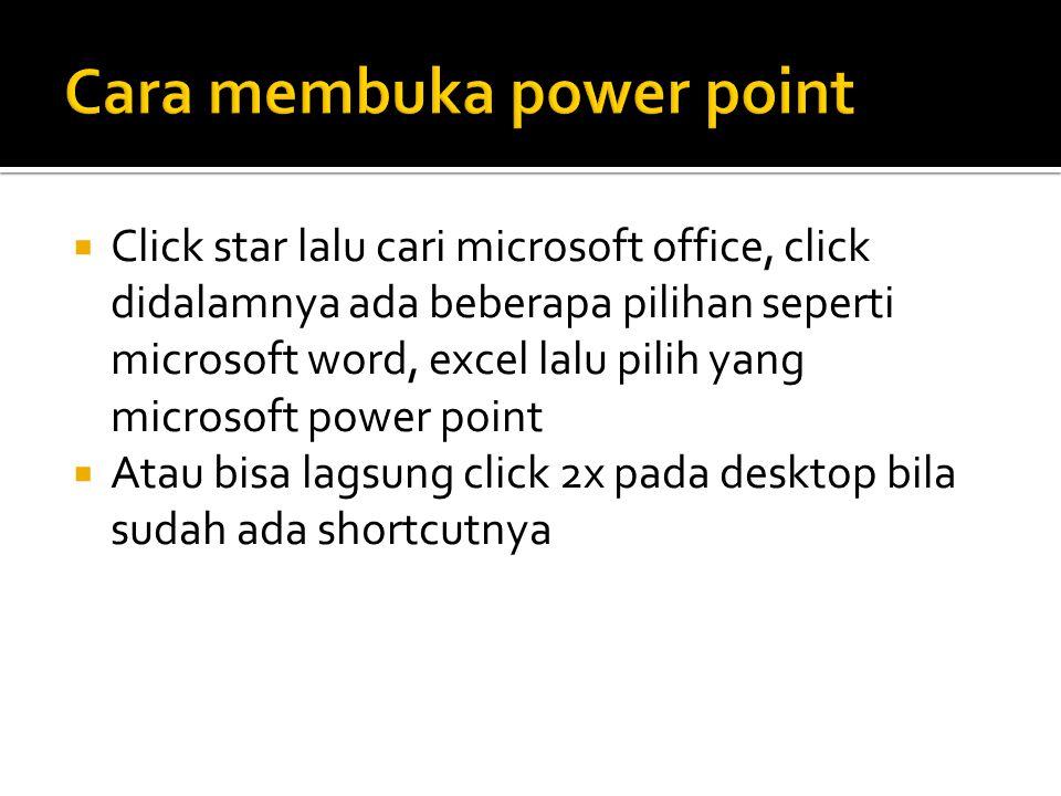  Microsof power point biasanya berguna untuk keperluan presentasi, dan sarana penyampaian sesuatu hal kepada orang lain, agar orang lain tau dan mengerti apa maksud dari presentasi tersebut, untuk itu power point dilengkapi dengan fasilitas pendukung, yang akan dijelaskan dibawah ini