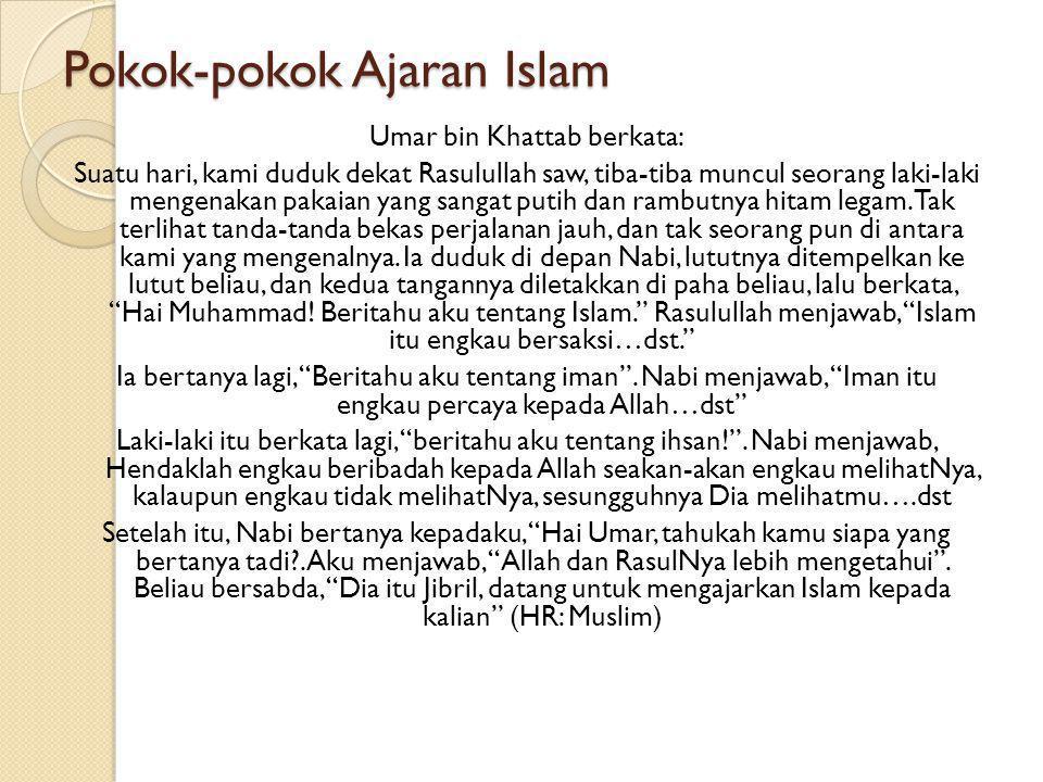 PENDIDIKAN AGAMA ISLAM H. TIJANI MUHAMMAD K., Lc, M.Pd.I PERTEMUAN KELIMA