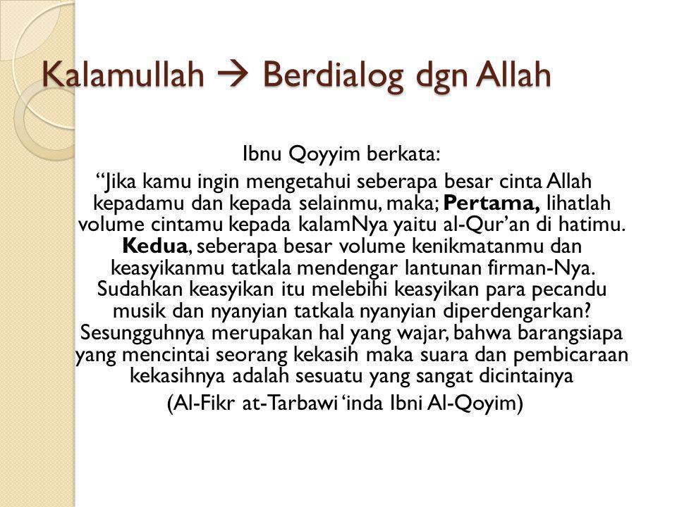 Definisi Al-Qur'an Al-Qur'an adalah Kalamullah MukjizatBerharga Diturunkan kepada Nabi Muhammad saw Disampaikan secara mutawatir Membacanya adalah ibadah Berdialog dengan Allah Pusaka Berharga Top Leader Otentik Kecerdasan Spritual