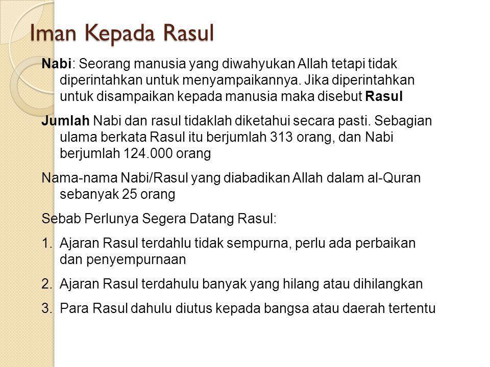 PENDIDIKAN AGAMA ISLAM H. TIJANI MUHAMMAD K., Lc, M.Pd.I PERTEMUAN KEDELAPAN