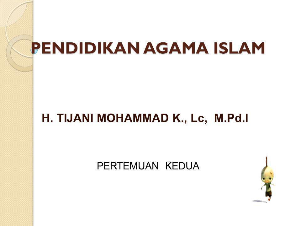 Manusia Dalam Pandangan Islam Manusia dilahirkan dalam keadaan suci (tidak berdosa) (al-hadits) Kedudukan manusia sama, yang membedakan adalah taqwanya (QS.