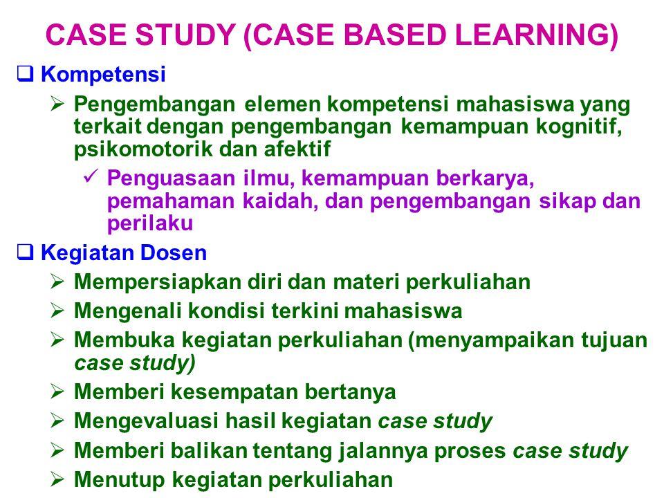  Kompetensi  Pengembangan elemen kompetensi mahasiswa yang terkait dengan pengembangan kemampuan kognitif, psikomotorik dan afektif Penguasaan ilmu,