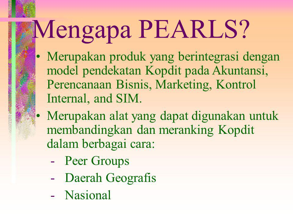 Why PEARLS.