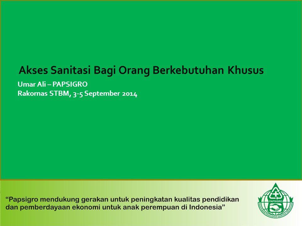 Umar Ali – PAPSIGRO Rakornas STBM, 3-5 September 2014