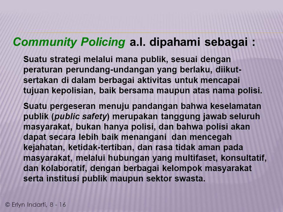 Community Policing a.l.
