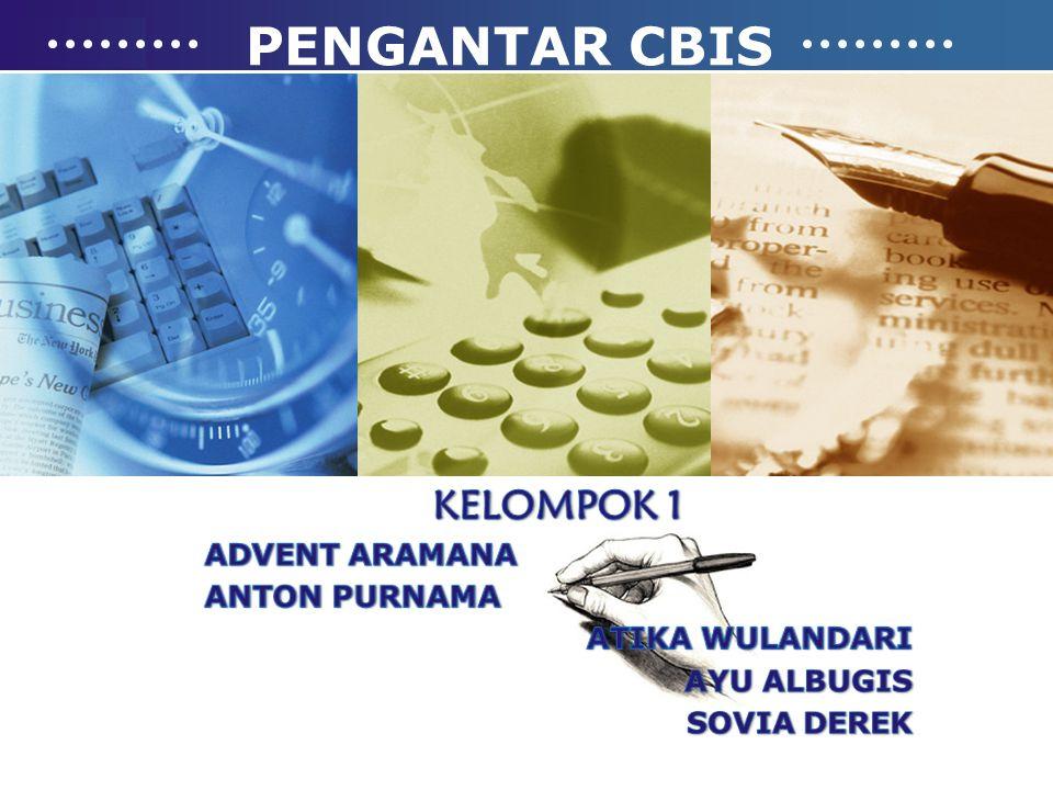 PENGERTIAN CBIS Computer Based Information System (CBIS) atau yang dalam Bahasa Indonesia disebut juga Sistem Informasi Berbasis Komputer merupakan sistem pengolah data menjadi sebuah informasi yang berkualitas dan dipergunakan untuk suatu alat bantu pengambilan keputusan.