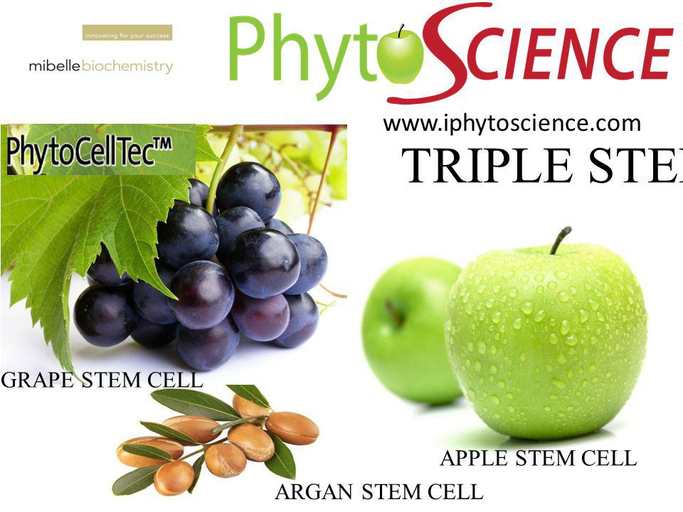 APPLE STEM CELL TRIPLE STEMCEL ARGAN STEM CELL GRAPE STEM CELL