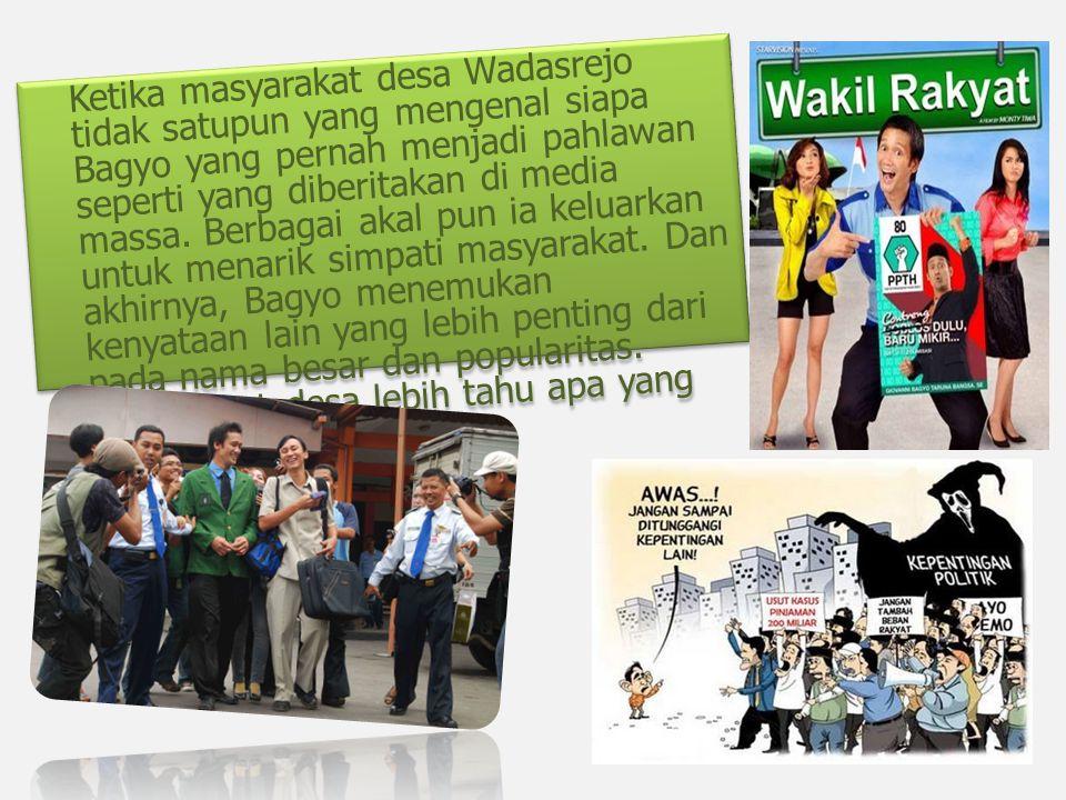 Kesimpulan Secara keseluruhan film ini merupakan hal yang terjadi di negara kita indonesia.