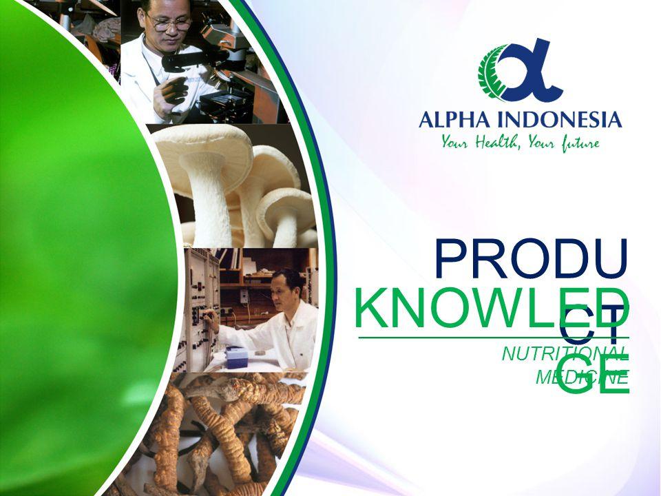 KEUNGGUL AN PRODUK ALPHA NUTRITIONAL MEDICINE