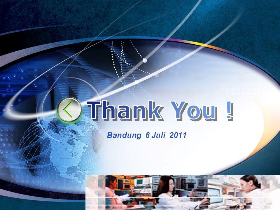 LOGO Edit your company slogan Bandung 6 Juli 2011