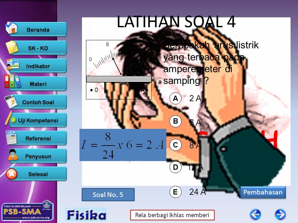 Rela berbagi Ikhlas memberi SALAH klik gambar untuk lihat Pembahasan Pembahasan Soal No.
