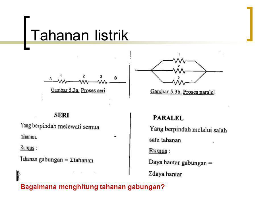 Penyelesaian rangkaian kompleks