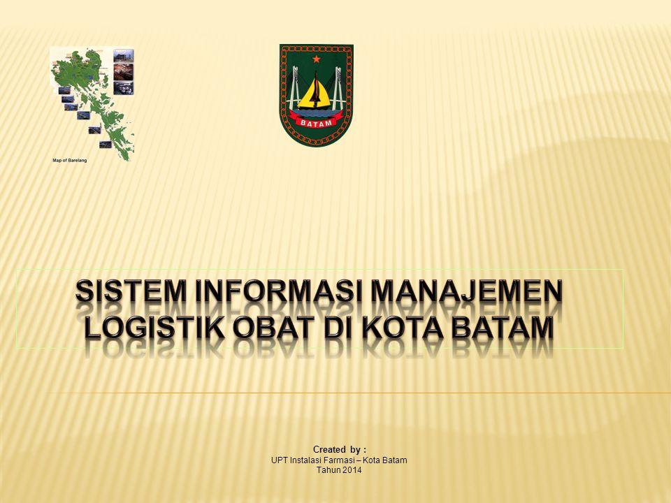 Created by : UPT Instalasi Farmasi – Kota Batam Tahun 2014