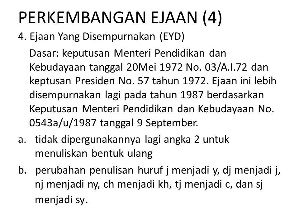 Penulisan Bentuk pun 1.Bentuk pun ditulis terpisah jika berarti juga atau saja Misalnya: (1)Indonesia pun dapat bersaing di dalam pasar bebas.