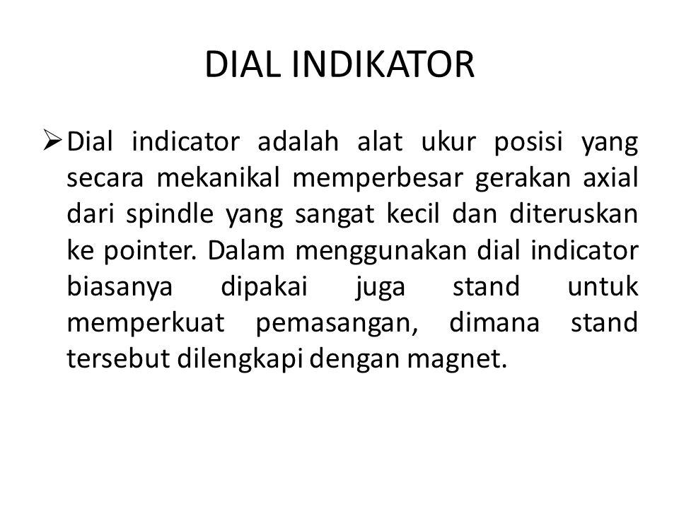 Contoh gambar untuk Dial Indikator.