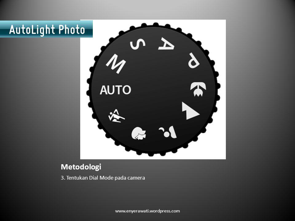 Metodologi 3. Tentukan Dial Mode pada camera www.enyerawati.wordpress.com