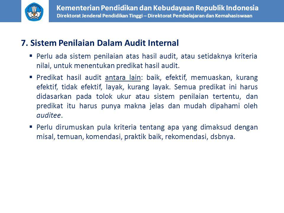 Kementerian Pendidikan dan Kebudayaan Republik Indonesia Direktorat Jenderal Pendidikan Tinggi – Direktorat Pembelajaran dan Kemahasiswaan 7. Sistem P