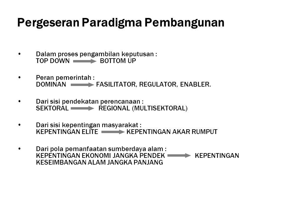 Kelembagaan LH di Daerah Psl 112 ayat (1) UU No.22/1999 PP No 8/2003 SKB Men PAN & Mendagri No 01/SKB/M.PAN/4/2003 dan No 17/2003 Surat edaran Mendagri kepada Gubernur dan Bupati/Walikota Nomor 660.1/1728/V/Bangda dan Nomor 660.1/102/V/Bangda Pertimbangan : 1.Yuridis 2.Empiris 3.Akomodatif Kelembagaan LH di daerah adalah berupa DINAS DAERAH 1.Perumusan kebijakan teknis LH 2.Pemberian perijinan dan pelaksanaan pelayanan umum 3.Pembinaan pelaksanaan tugas LH Harapan : Kapasitas penyelenggaraan tugas dan fungsi LH menjadi : lebih luas, lebih kuat, dan lebih akomodatif