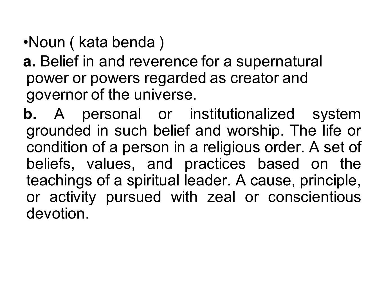 YESUS MENGAJAR SUPAYA 1.ayat 17 – 19. a.