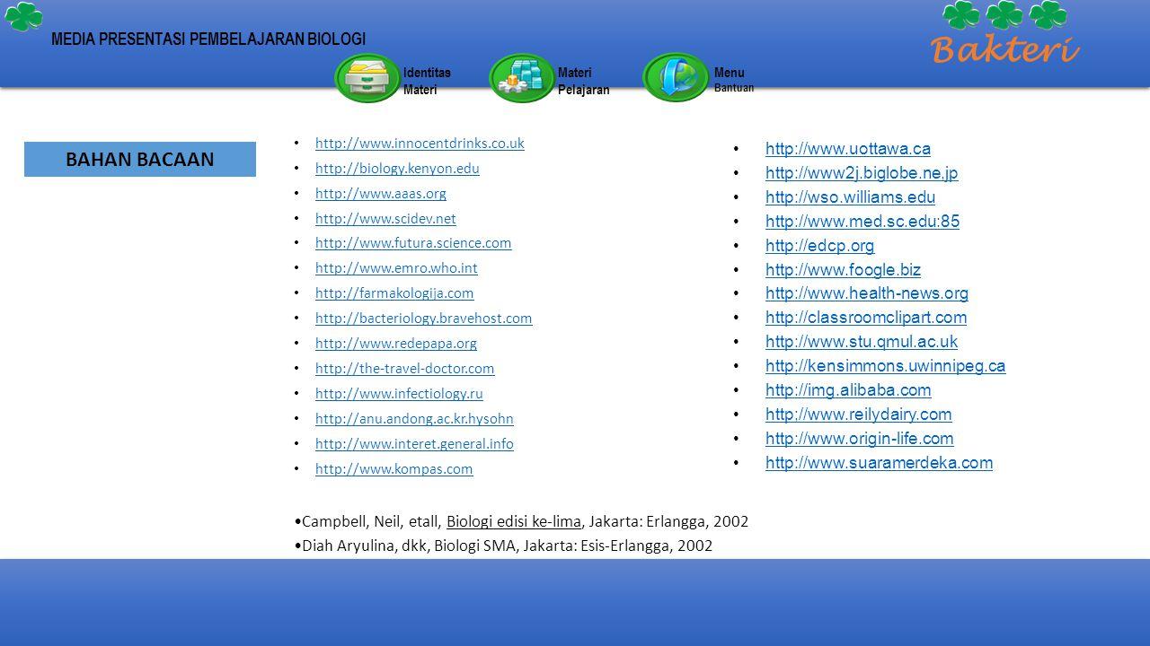 http://www.innocentdrinks.co.uk http://biology.kenyon.edu http://www.aaas.org http://www.scidev.net http://www.futura.science.com http://www.emro.who.