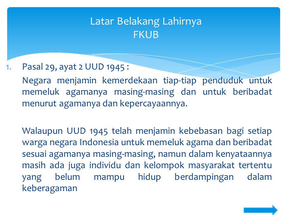  Jadi ada empat faktor utama pendukung kerukunan di Sulawesi Utara : Ekonomi masyarakat baik, tingkat pendidikan ok, serta keterbukaan dari etnis dan agama mayoritas, serta gaya kepemimpin yang memiliki vivi kebangsaan yang berlandaskan kemajemukan  Ke-empat potensi ini dikelolah oleh pemerintah yang cerdas, adil dan jujur.
