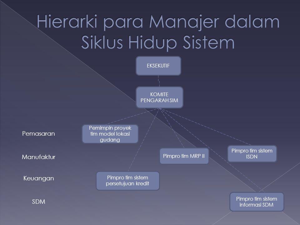  Keuntungan dari merencanakan CBIS :  Menentukan lingkup dari proyek  Mengenali berbagai area permasalahan potensial  Memberikan dasar untuk pengendalian  Langkah-langkah dalam tahap perencanaan : 1.