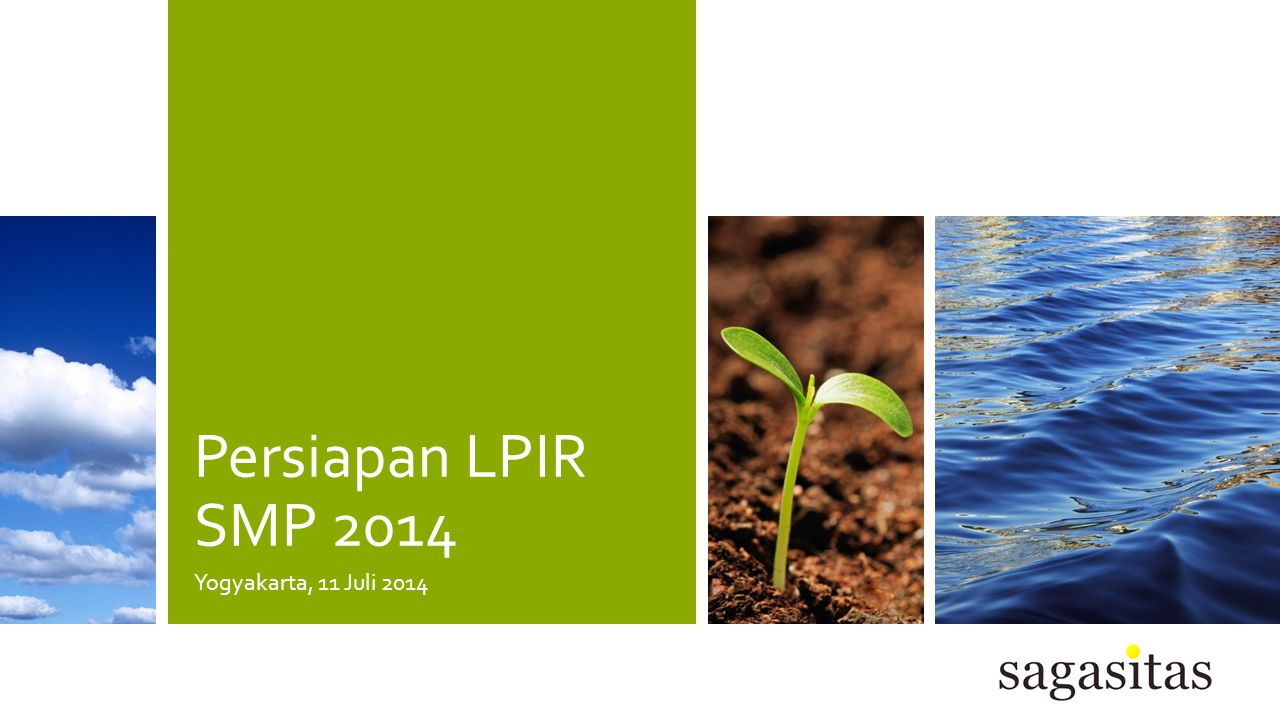 Persiapan LPIR SMP 2014 Yogyakarta, 11 Juli 2014