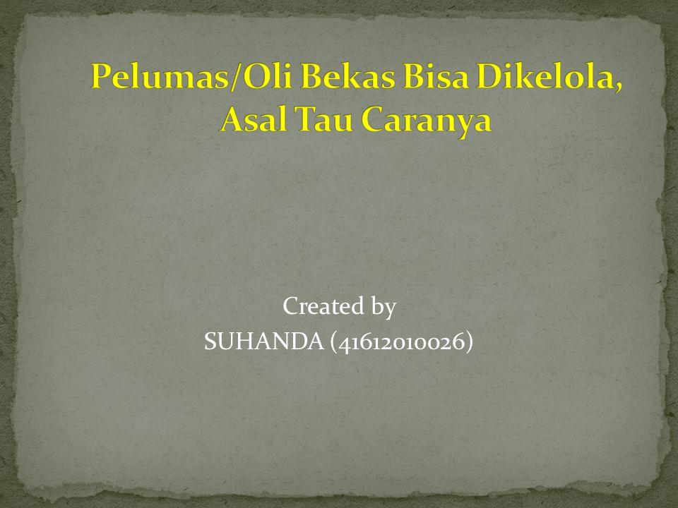Created by SUHANDA (41612010026)