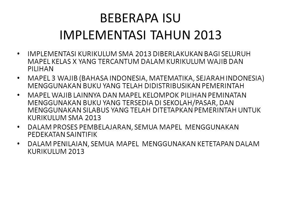 KARATERISTIK KURIKULUM 2013 MENEKANKAN PADA PENGEMBANGAN KEMAMPUAN PROSES (MENGAMATI, MENANYA, MENGEKSPLORE, MENGOLAH INFORMASI, MENGKOMUNIKASIKAN) PENILAIAN DILAKUKAN TERHADAP PENGETAHUAN, KETRAMPILAN, DAN SIKAP