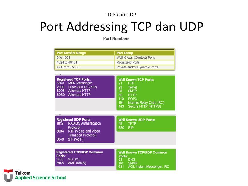 Netstat Digunakan untuk memapar koneksi TCP yang terbuka dan berjalan pada host jaringan