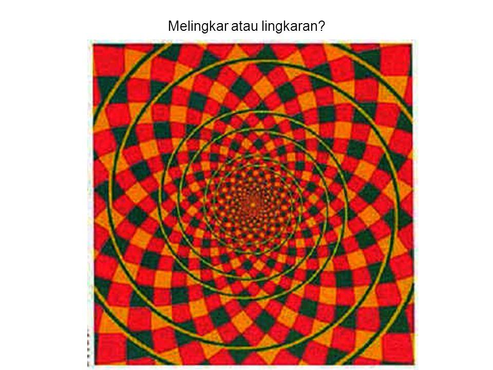 Melingkar atau lingkaran?