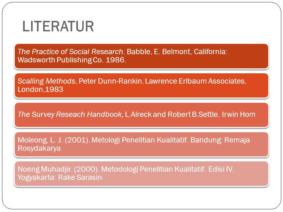 Aktual; Menarik bagi calon peneliti; Bermanfaat;Relevan Resume
